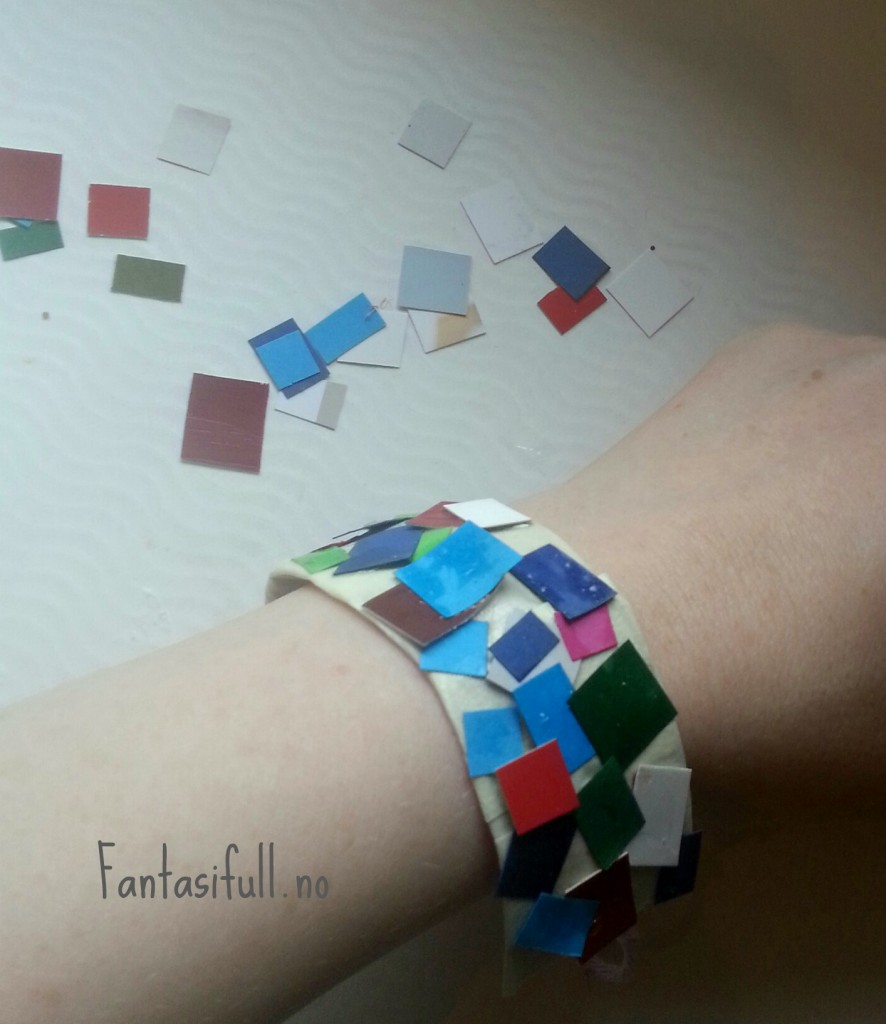 armbånd papirbiter