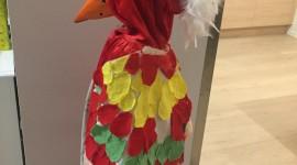 karneval papegøye
